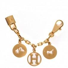 Hermes Gold Breloque Bag Charm