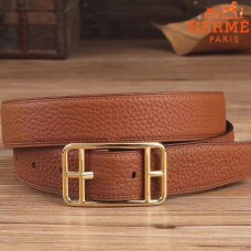 Hermes Brown Cape Cod 32 Reversible Belt