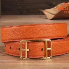 Hermes Orange Cape Cod 32 Reversible Belt