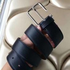 Hermes Lennox 40 MM Belt In Black Epsom Leather