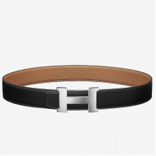Hermes Constance Belt Buckle & Brown Clemence 38 MM Strap
