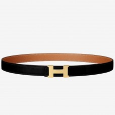 Hermes Mini Constance Belt Buckle & Brown Epsom 24 MM Strap