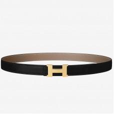 Hermes Mini Constance Belt Buckle & Taupe Epsom 24 MM Strap