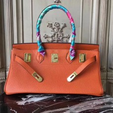 Hermes Orange JPG Birkin 42cm Shoulder Bag