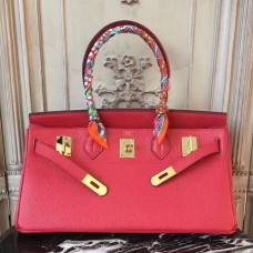 Hermes Red JPG Birkin 42cm Shoulder Bag