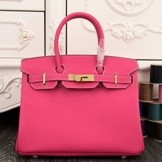 Hermes Birkin 30cm 35cm Bag In Rose Red Epsom Leather