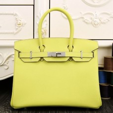 Hermes Birkin 30cm 35cm Bag In Yellow Epsom Leather