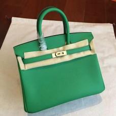 Hermes Bamboo Epsom Birkin 25cm Handmade Bag