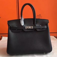 Hermes Black Swift Birkin 30cm Handmade Bag