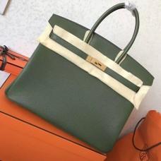 Hermes Canopee Clemence Birkin 30cm Handmade Bag