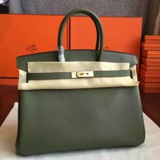 Hermes Canopee Clemence Birkin 35cm Handmade Bag