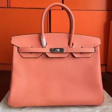 Hermes Crevette Clemence Birkin 40cm Handmade Bag