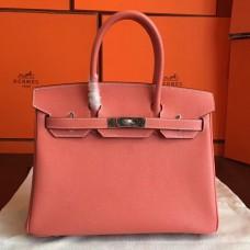 Hermes Crevette Epsom Birkin 30cm Handmade Bag