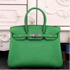 Hermes Birkin 30cm 35cm Bag In Bamboo Epsom Leather