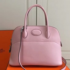 Hermes Bolide 31cm Bag In Pink Swift Leather