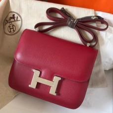 Hermes Mini Constance 18cm Ruby Epsom Bag