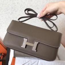 Hermes Etoupe Epsom Constance Elan 25cm Bag