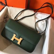 Hermes Vert Anglais Epsom Constance Elan 25cm Bag