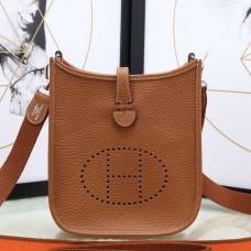 Hermes Brown Evelyne II TPM Messenger Bag