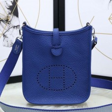 Hermes Blue Electric Evelyne II TPM Messenger Bag