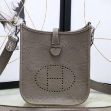 Hermes Etoupe Evelyne II TPM Messenger Bag