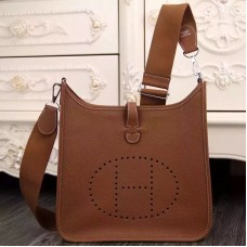 Hermes Brown Evelyne III PM Bag