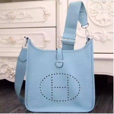 Hermes Light Blue Evelyne III PM Bag