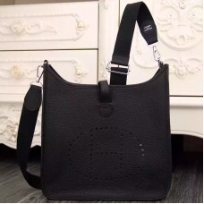 Hermes Black Evelyne III PM Bag