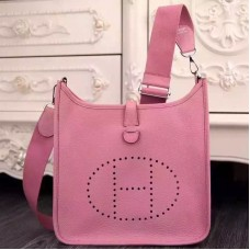 Hermes Pink Evelyne III PM Bag