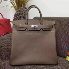 Hermes Etoupe Haut a Courroies HAC Birkin 40cm Bag