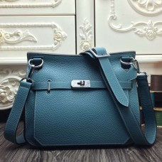 Hermes Blue Jean Large Jypsiere 34cm Bag
