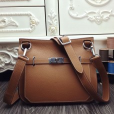 Hermes Brown Large Jypsiere 34cm Bag