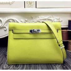 Hermes Kelly Danse Bag In Yellow Swift Leather