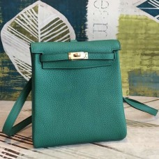 Hermes Malachite Clemence Kelly Ado PM Backpack