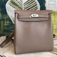 Hermes Etain Swift Kelly Ado PM Backpack