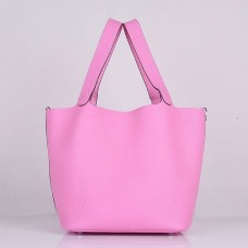 Hermes Picotin Lock Bag In Pink Leather
