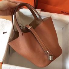 Hermes Gold Picotin Lock MM 22cm Handmade Bag