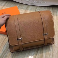 Hermes Brown Steve 35 Messenger Bag