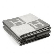 Hermes Grey Avalon Blanket