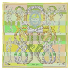 Hermes Green Della Cavalleria Shawl