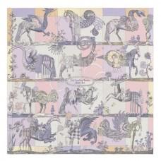 Hermes Parme Della Cavalleria Favolosa Silk Twill Scarf