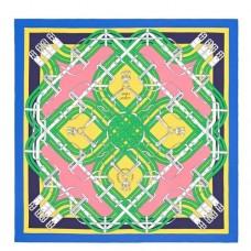 Hermes Yellow Mors à Jouets Silk Shawl