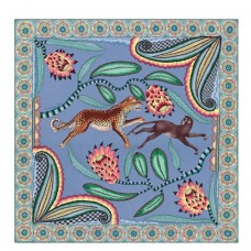 Hermes Blue Savana Dance Shawl