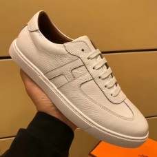 Hermes Olympic Sneakers In Black Leather