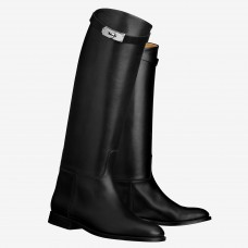 Hermes Black Jumping Boots