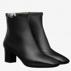 Hermes Black Calfskin Power Low Boot