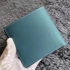 Hermes Blue Jean MC² Copernic Compact Wallet