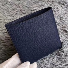 Hermes Dark Blue MC² Copernic Compact Wallet