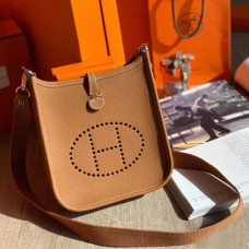 Hermes Brown Evelyne II TPM Messenger Bag