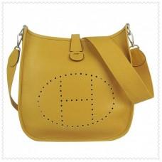 Hermes Evelyne III Bag Yellow